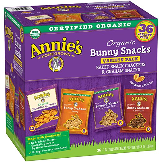 Annie's Organic Variety Pack Deal