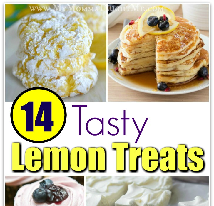 Tasty Lemon Treats