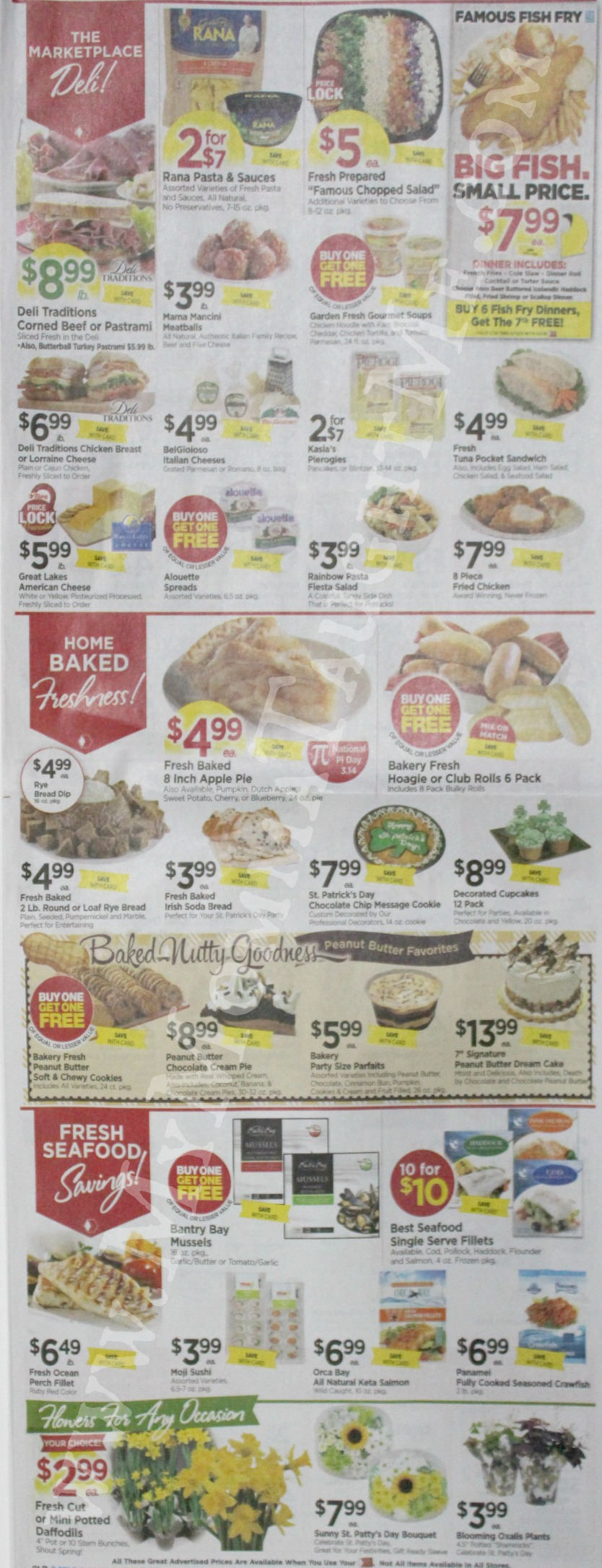 Tops Markets Ad Scan Week Of 3 12 17 To 3 18 17 Page 3