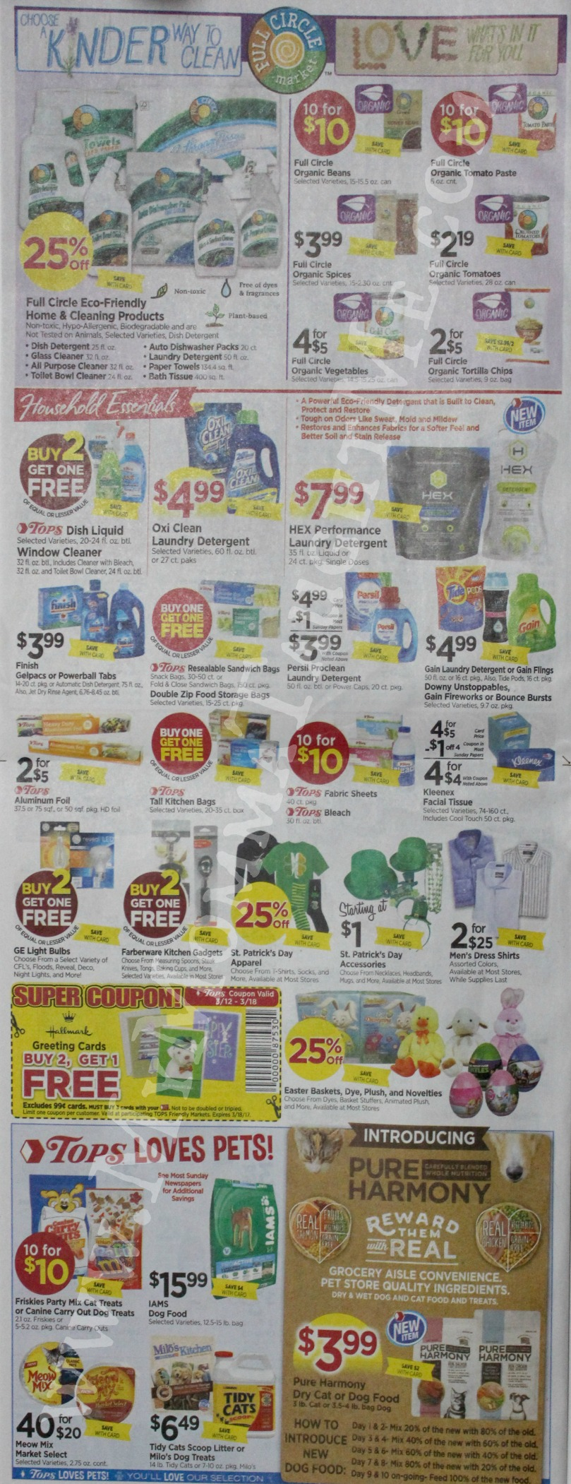 Tops Markets Ad Scan Week Of 3 12 17 To 3 18 17 Page 6
