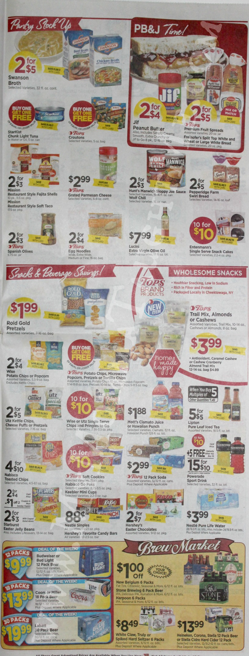 Tops Markets Ad Scan Week Of 3 19 17 To 3 25 17 Page 5