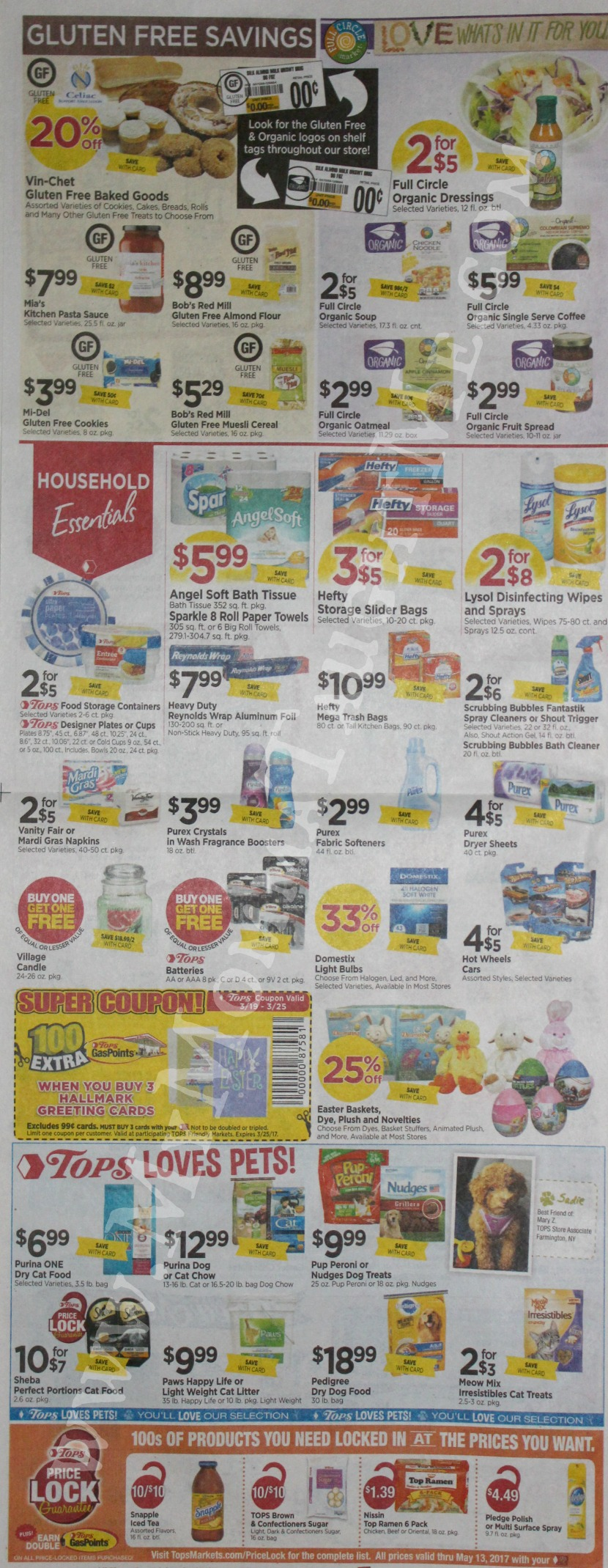 Tops Markets Ad Scan Week Of 3 19 17 To 3 25 17 Page 6