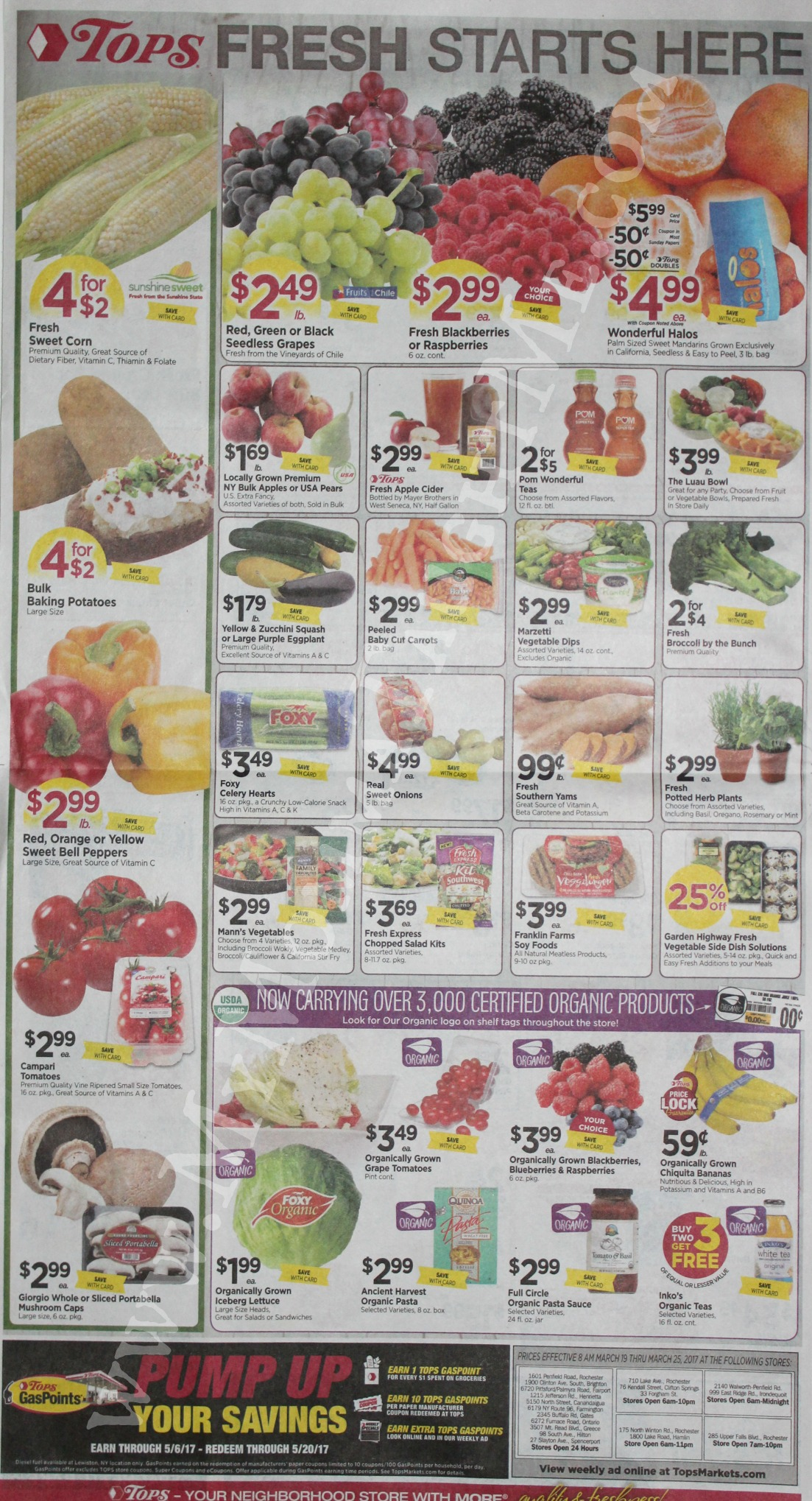 Tops Markets Ad Scan Week Of 3 19 17 To 3 25 17 Page 8