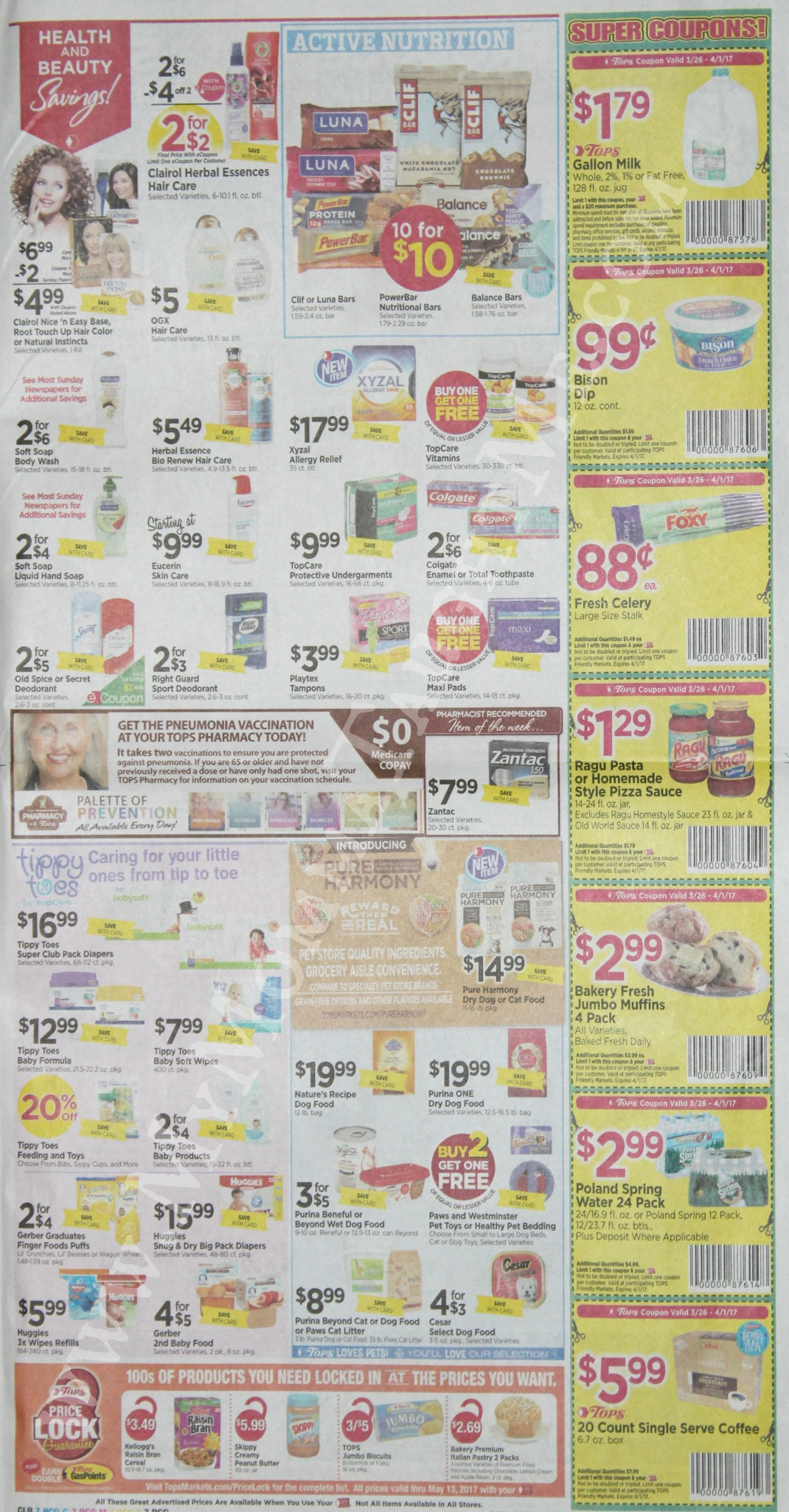 Tops Markets Ad Scan Week Of 3 26 17 To 4 1 17 Page 7