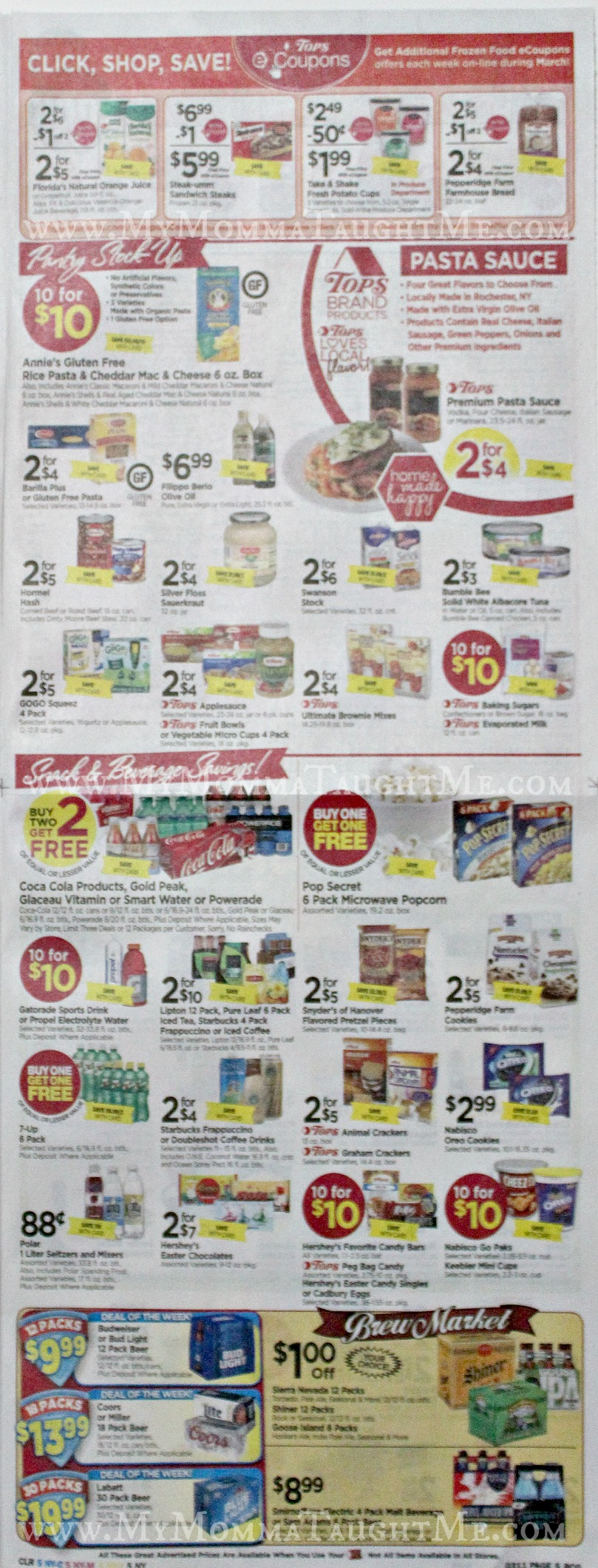 Tops Markets Ad Scan Week Of 3 5 17 To 3 11 17 Page 5