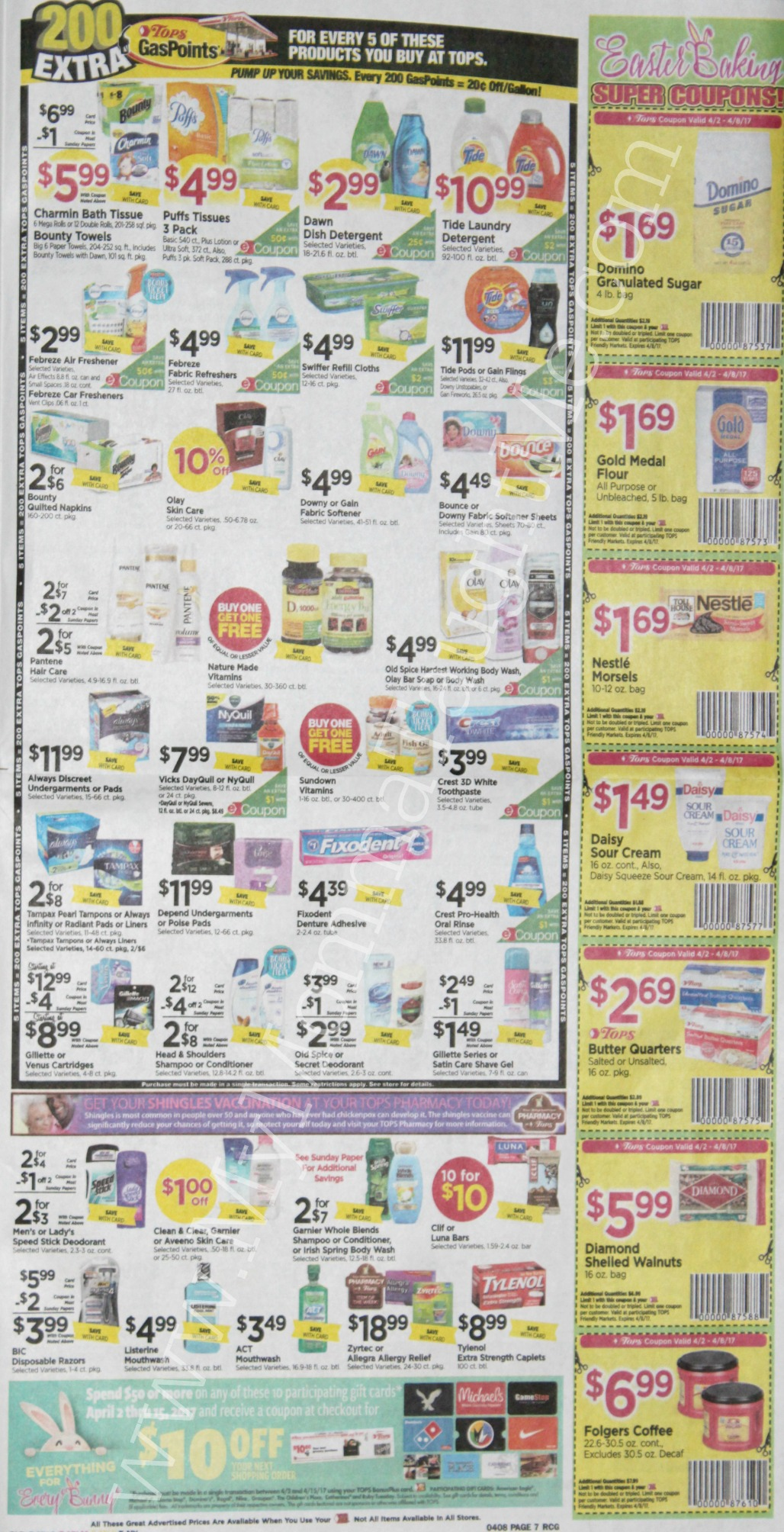Tops Markets Ad Scan Week Of 4 2 17 To 4 8 17 Page 7