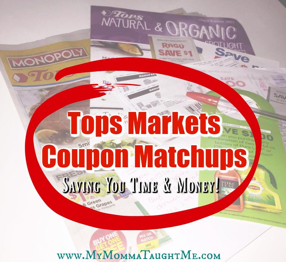Tops Markets Coupon Matchups
