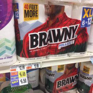 Brawny Paper Towels 6 Pack Clearanced At Tops Markets