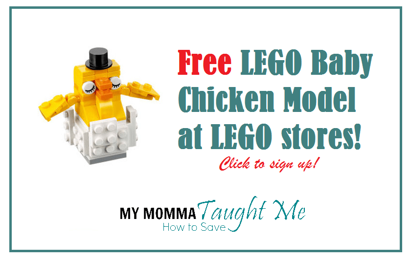 Free Chicken Lego Build