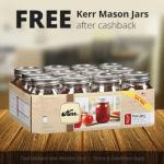 Free Kerr Mason Jars