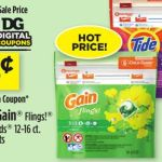 $0 95 Gain Flings And Tode Pods At Dollar General Again