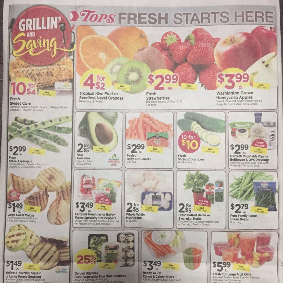 Tops Markets Ad Scan Week Of 4 16 17 To 4 22 17 Page 8a