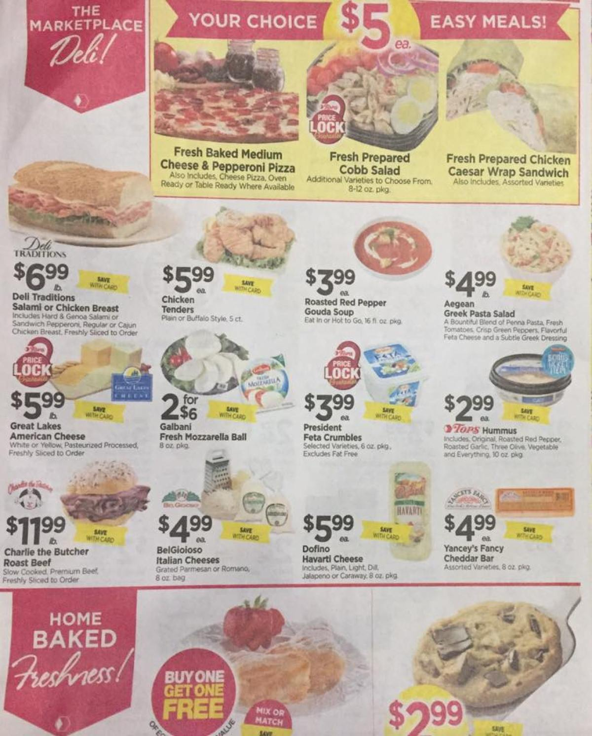 Tops Markets Ad Scan Week Of 4 23 17 To 4 29 17 Page 3a