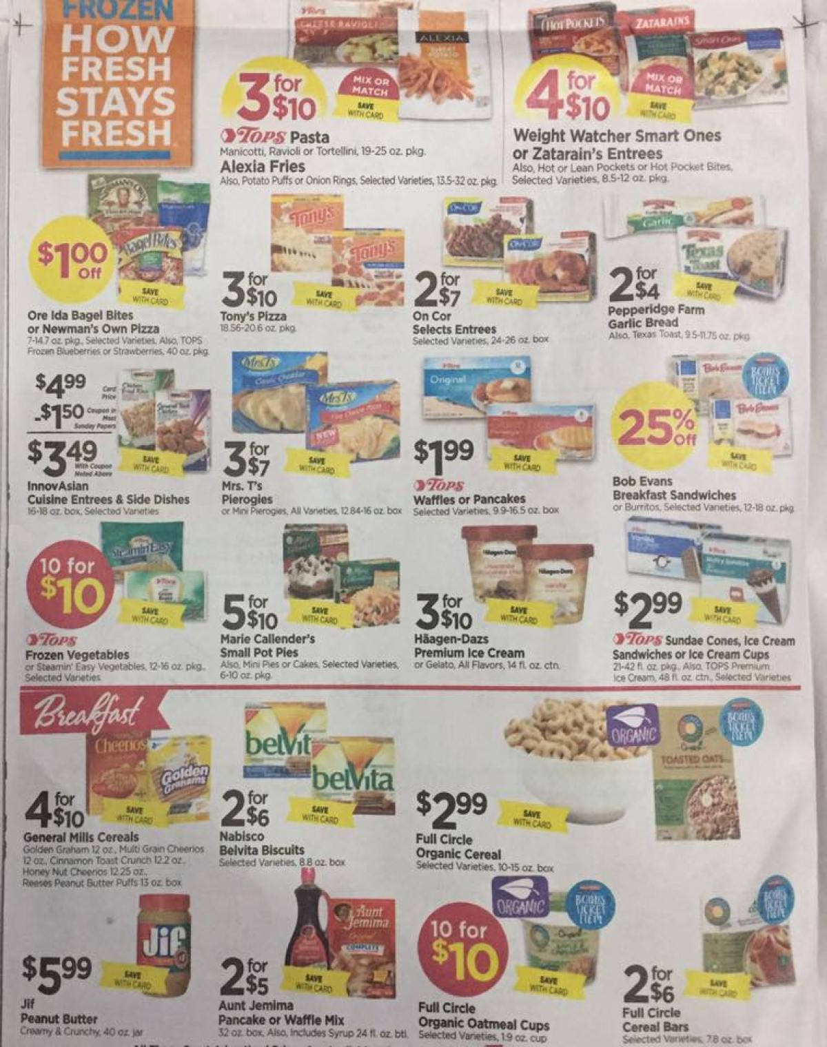Tops Markets Ad Scan Week Of 4 23 17 To 4 29 17 Page 4b