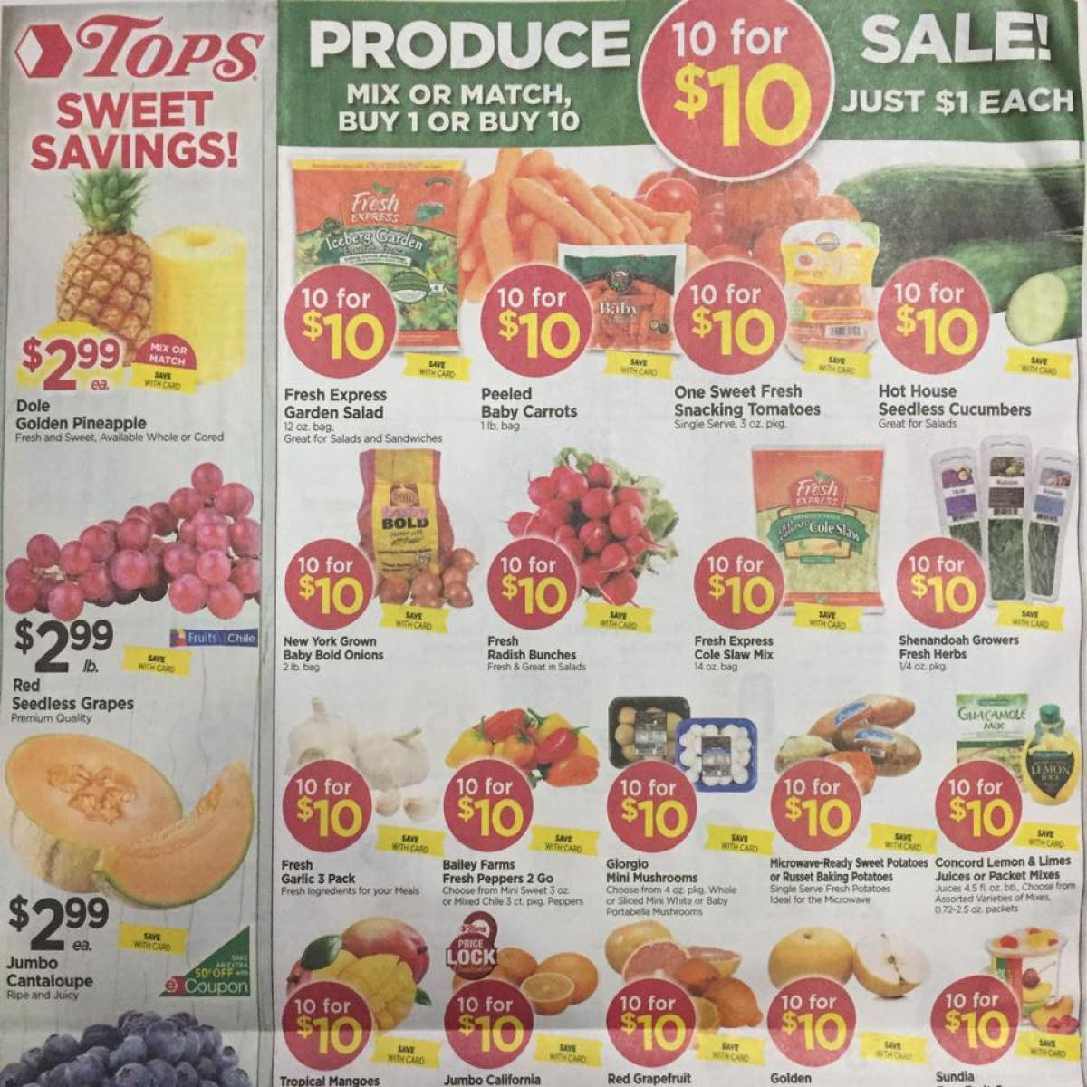 Tops Markets Ad Scan Week Of 4 23 17 To 4 29 17 Page 8a