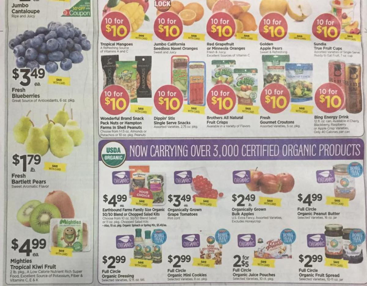 Tops Markets Ad Scan Week Of 4 23 17 To 4 29 17 Page 8b