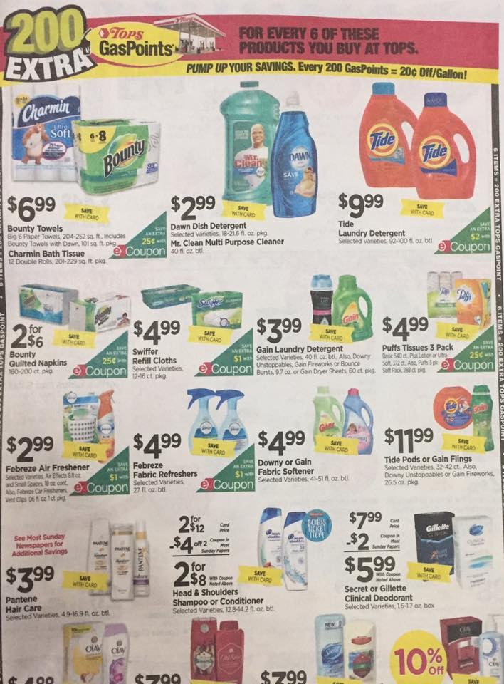 Tops Markets Ad Scan Week Of 4 30 17 To 5 6 17 Page 5a