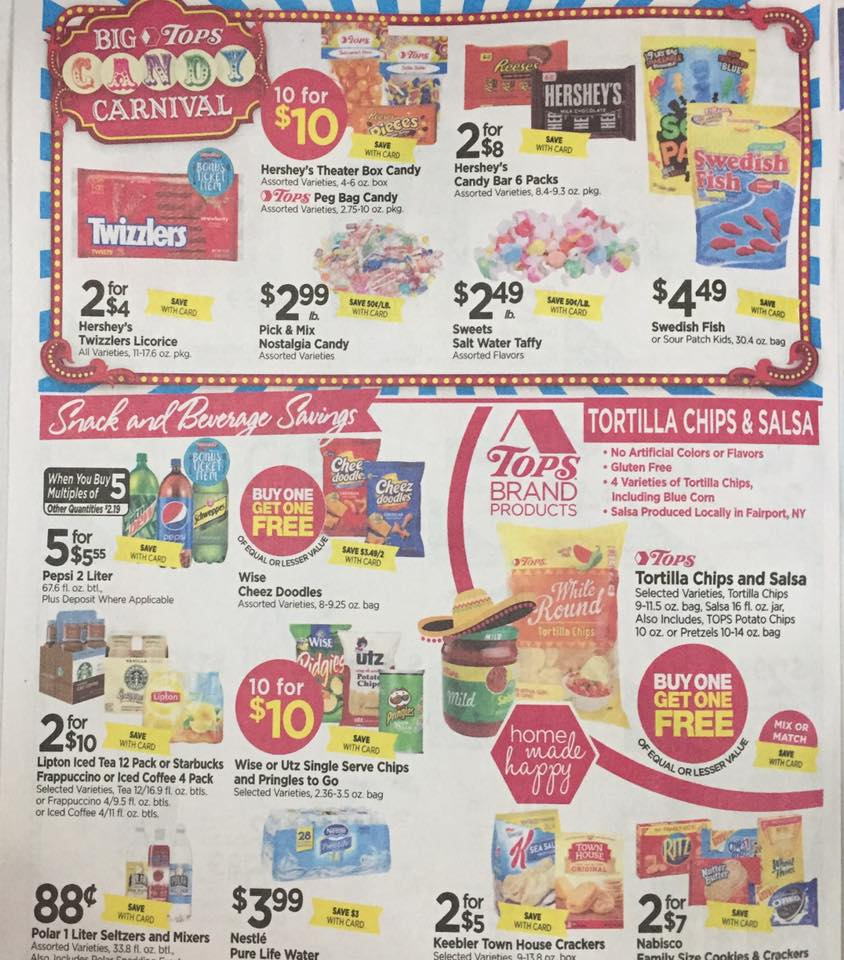 Tops Markets Ad Scan Week Of 4 30 17 To 5 6 17 Page 6a