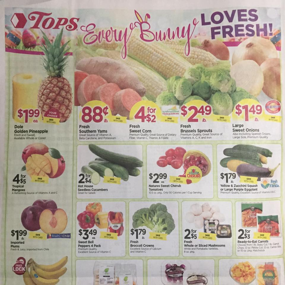 Tops Markets Ad Scan Week Of 4 9 17 To 4 15 17 Page 10a