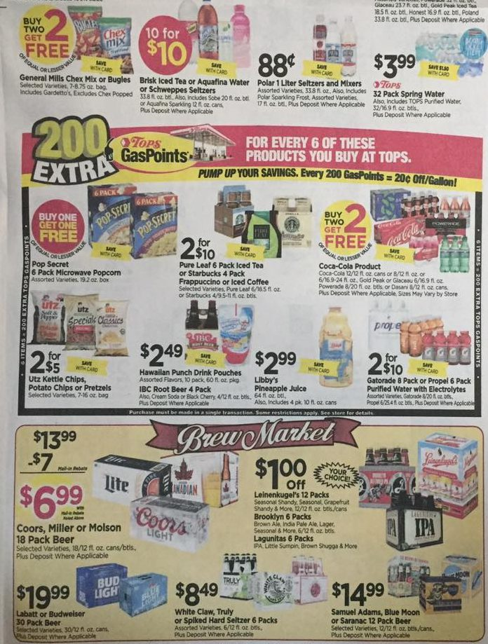 Tops Markets Ad Scan Week Of 4 9 17 To 4 15 17 Page 5ab