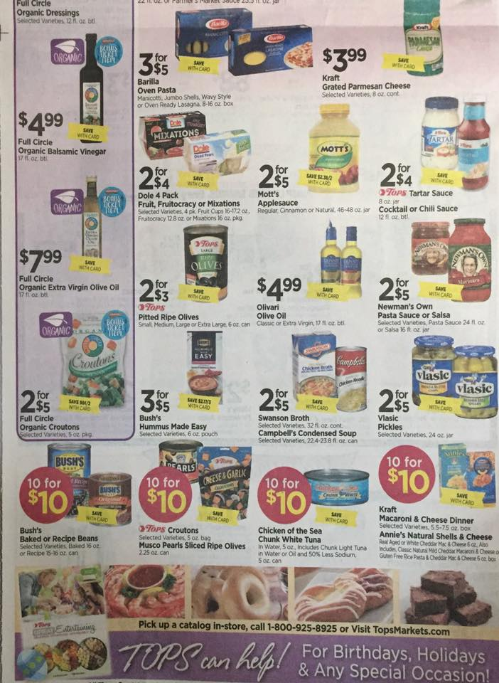 Tops Markets Ad Scan Week Of 4 9 17 To 4 15 17 Page 6b