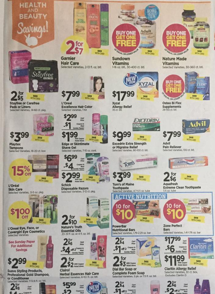 Tops Markets Ad Scan Week Of 4 9 17 To 4 15 17 Page 9a