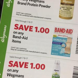 Band Aid Wegmans Store Coupon