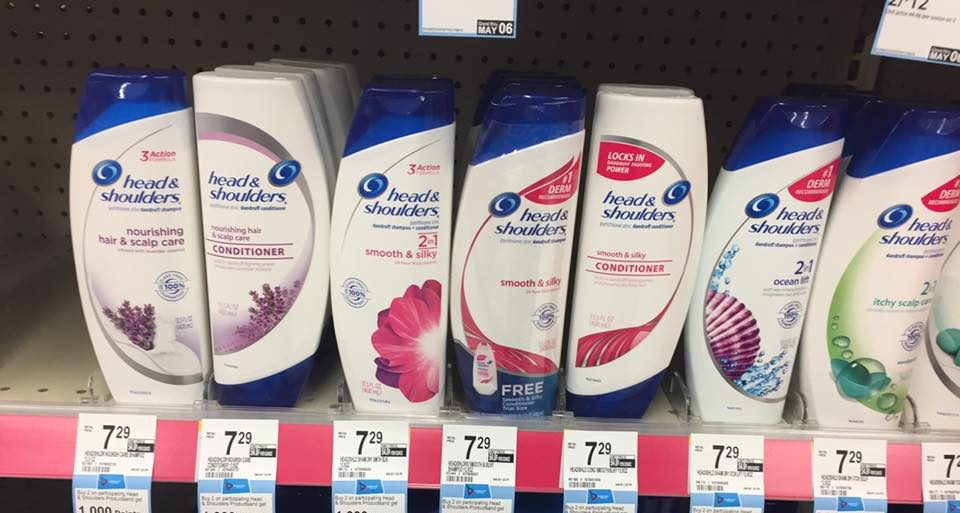 Head And Shoulders At Walgreens