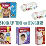 Stock Up On Huggies Diapers And Wipes