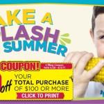 $10 Off $100 Tops Printable Coupon
