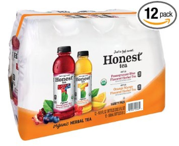 12 Pack Of Honest Organic Brewed Tea,