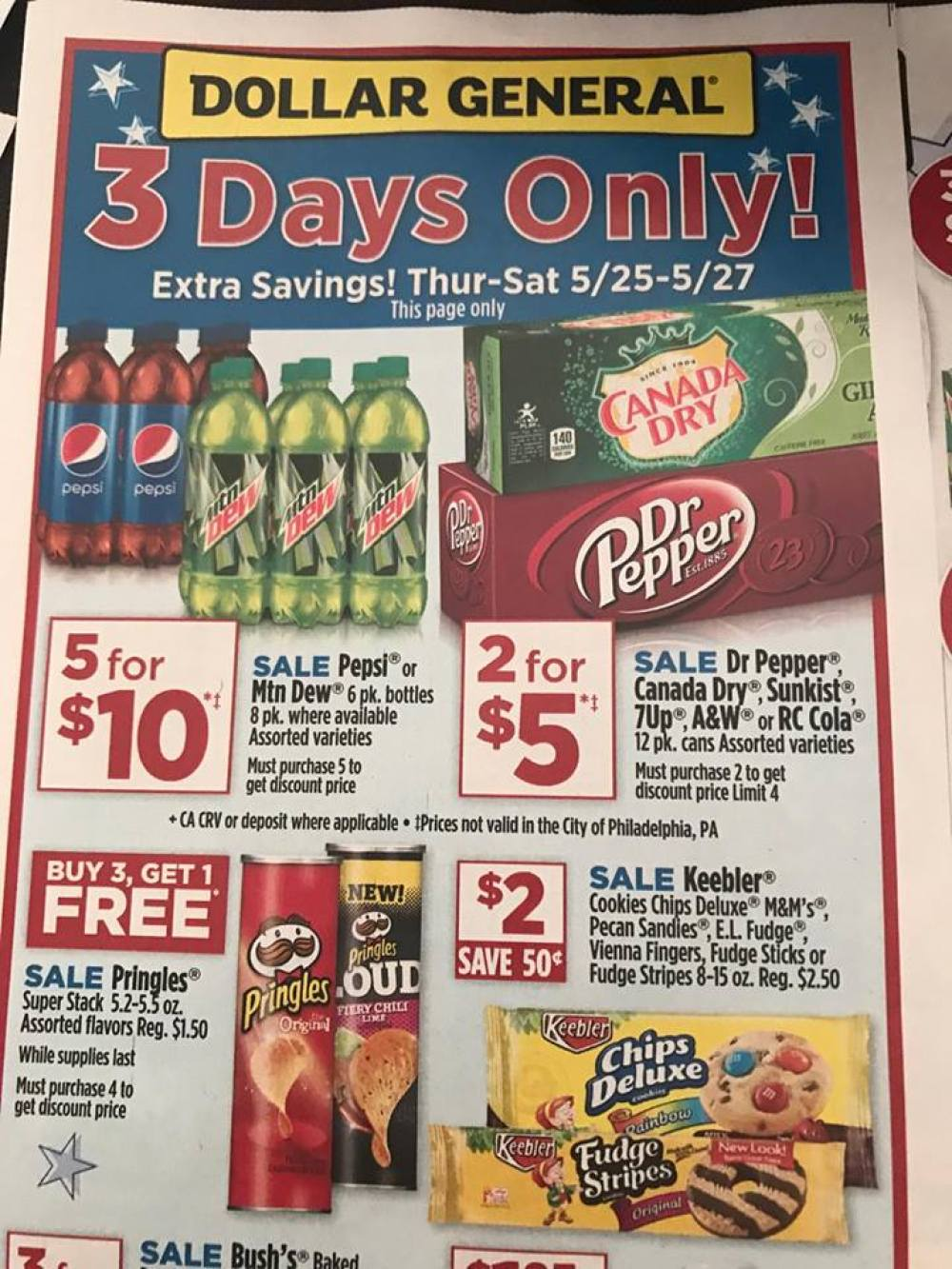 Dollar General Ad Week Of 5 21 3 Day Sale 1