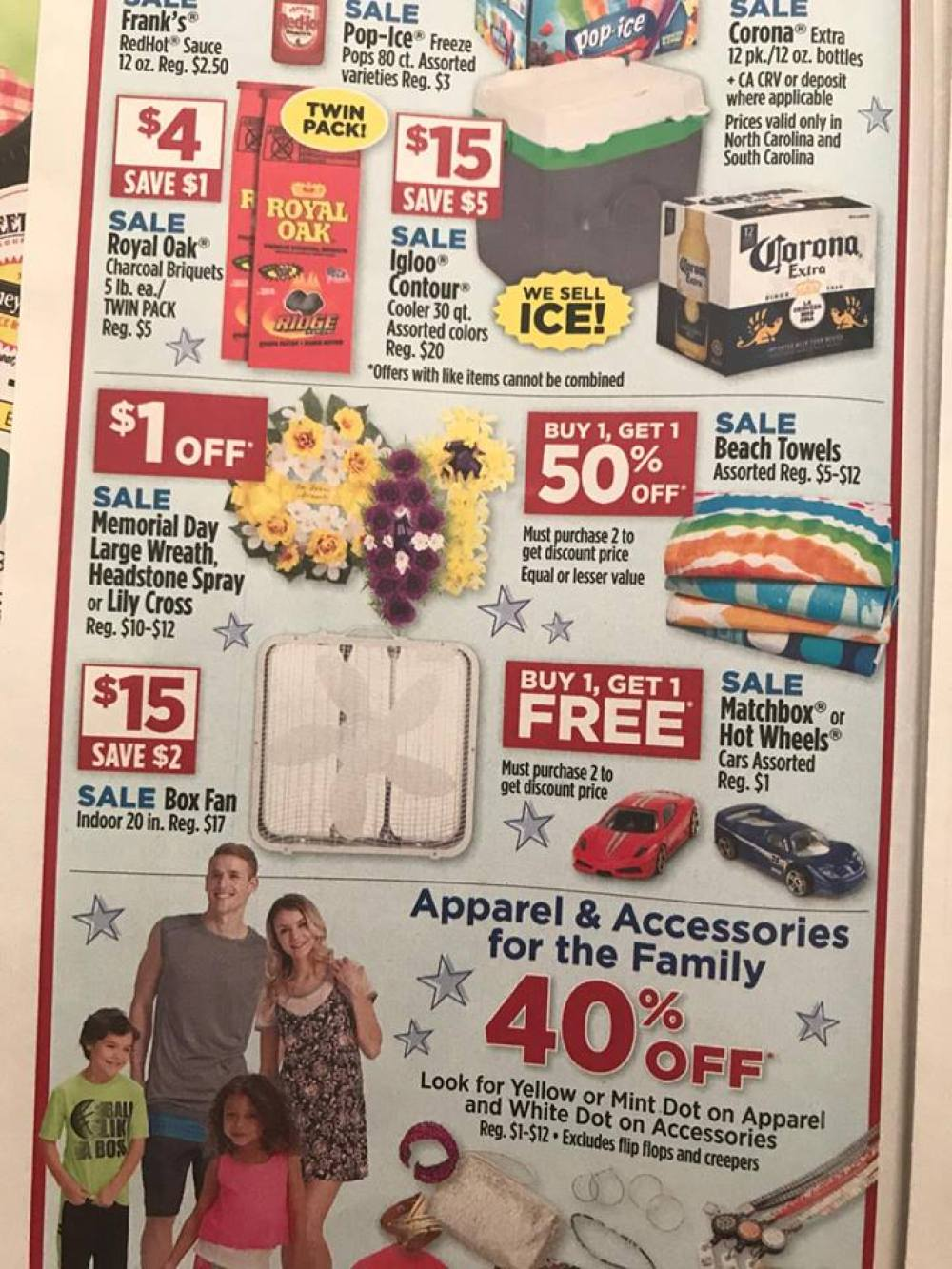 Dollar General Ad Week Of 5 21 3 Day Sale 2