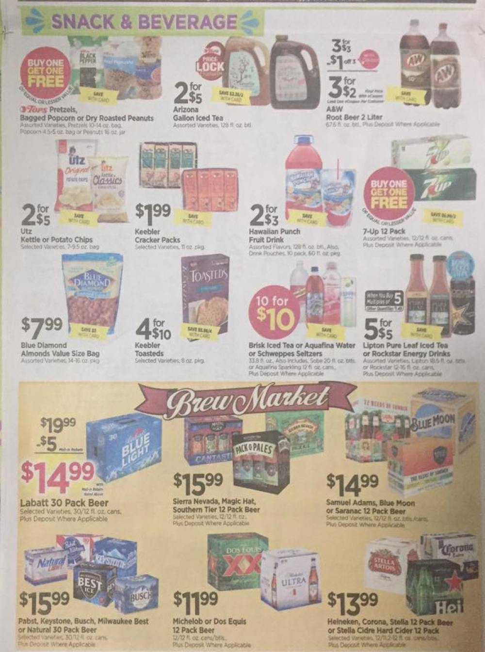 Tops Markets Ad Scan Week Of 5 28 17 To 6 3 17 Page 6b