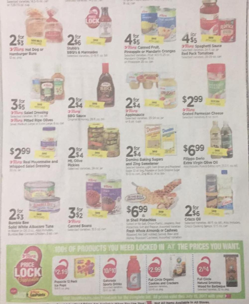 Tops Markets Ad Scan Week Of 5 28 17 To 6 3 17 Page 7b