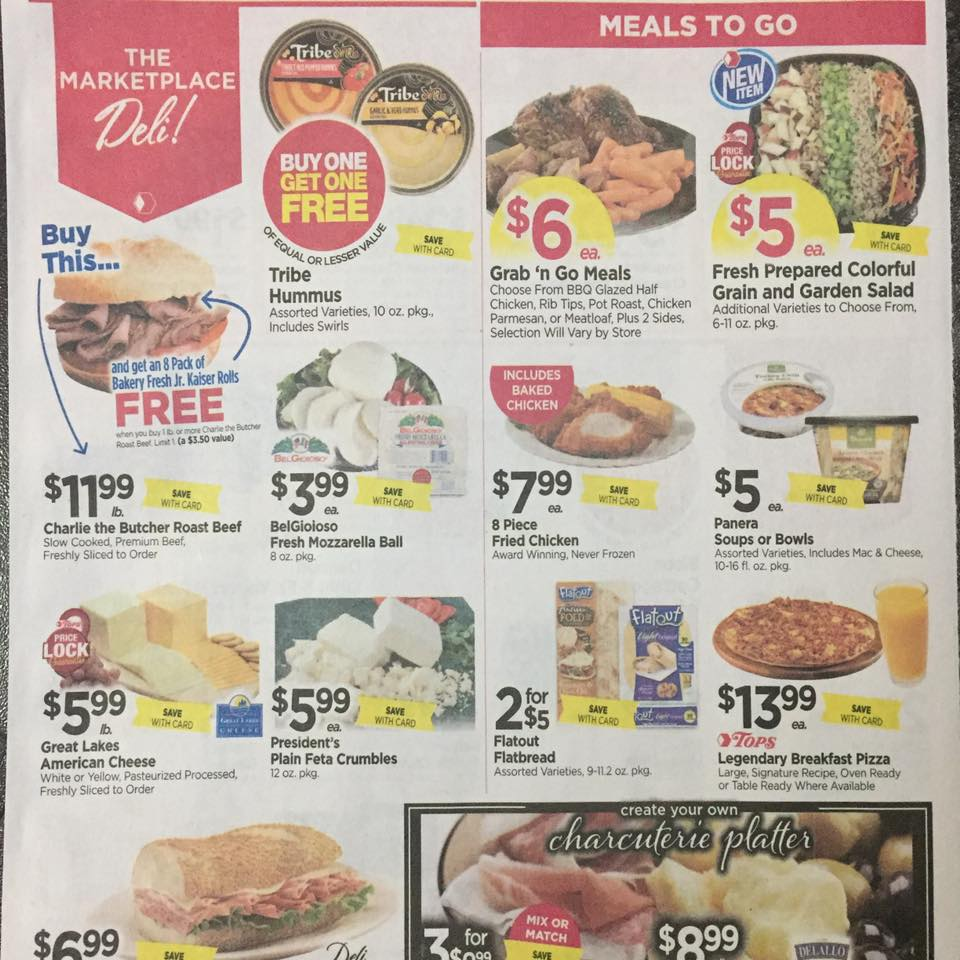 Tops Markets Ad Scan Week Of 5 7 17 To 5 13 17 Page 3a