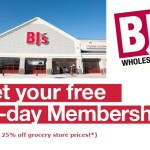 Free 90 Day BJs Trial Membership