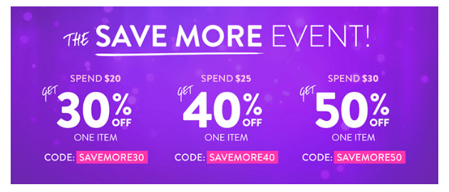 Hollar Save More Event