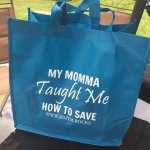 My Momma Taught Me Reusable Bags Giveaway