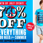70% Red White And Blue Sale
