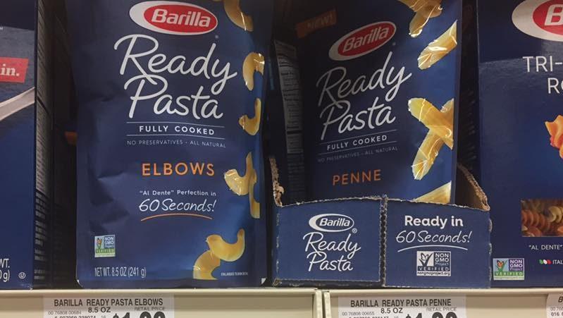 Barilla Ready Pasta At Tops Markets