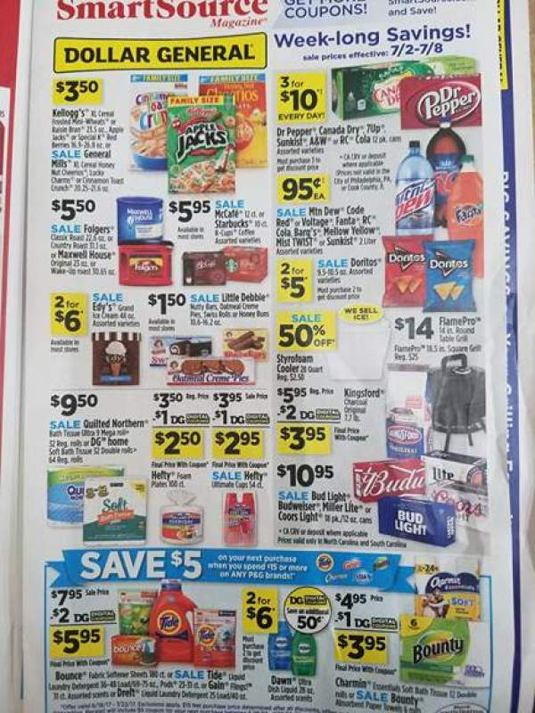 Dollar General Ad Scan Week Of 7 2 Page 2