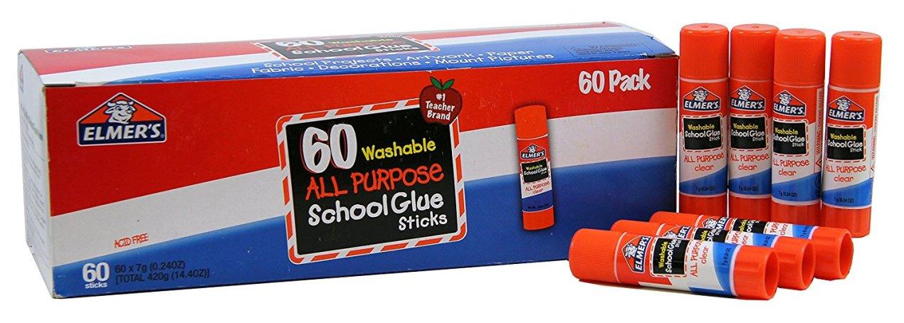Elmer's All Purpose Glue Stick 60 Count