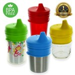 Healthy Sprouts Silicone Sippy Lids (4 Pack)