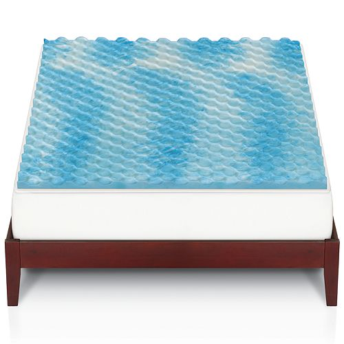 The Big One Gel Memory Foam Mattress Topper Only $28 (reg $100+)