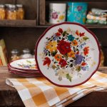 The Pioneer Woman Timeless Floral Salad Plate Set, 4 Pack