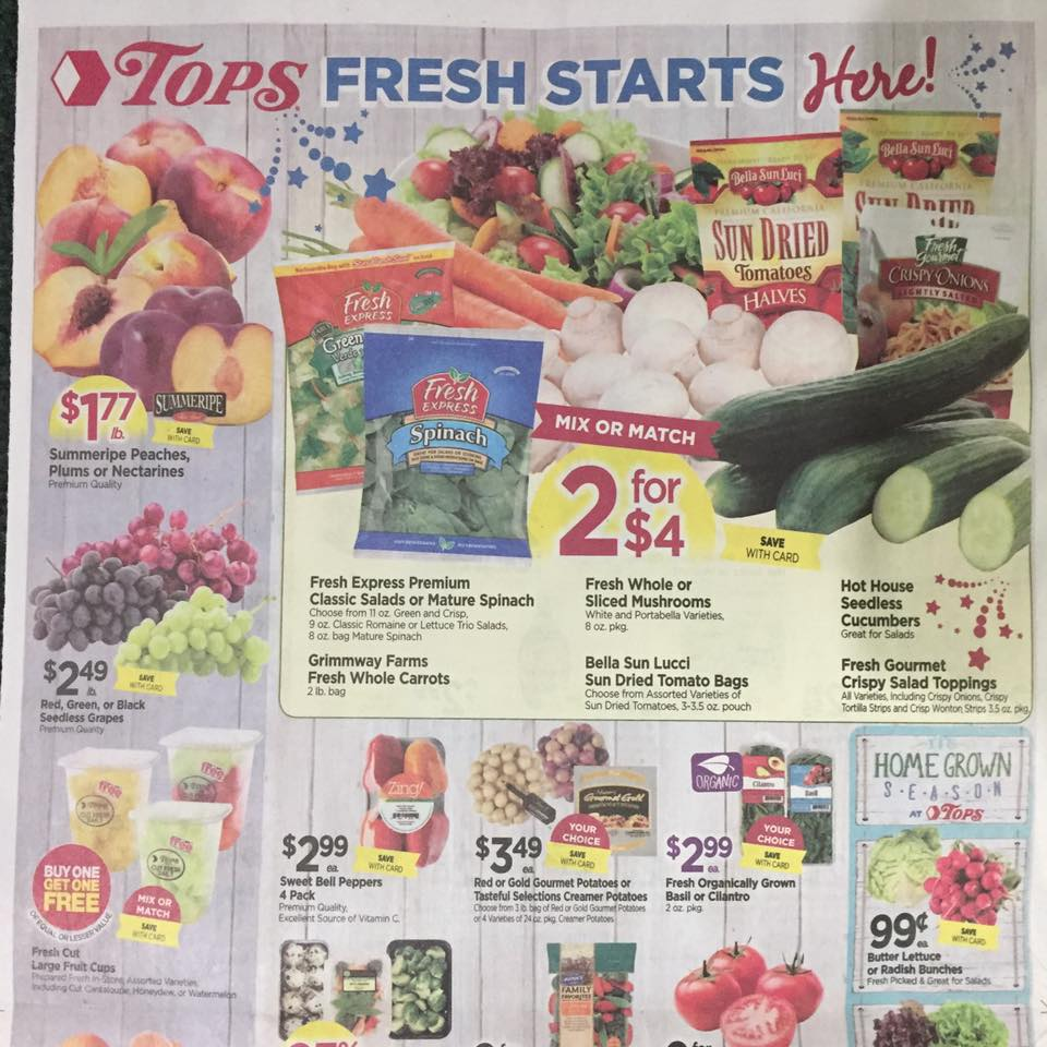 Tops Markets Ad Scan Week Of 7 2 Page 10a
