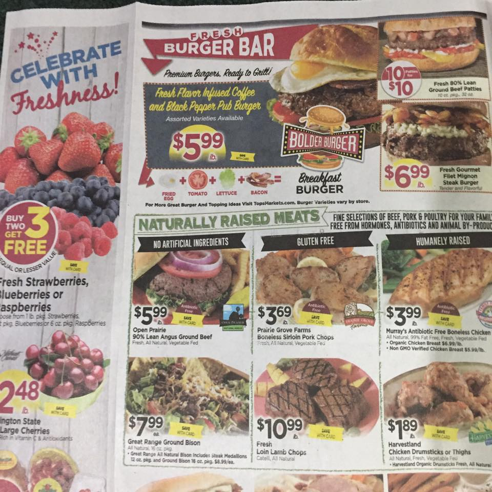 Tops Markets Ad Scan Week Of 7 2 Page 2a
