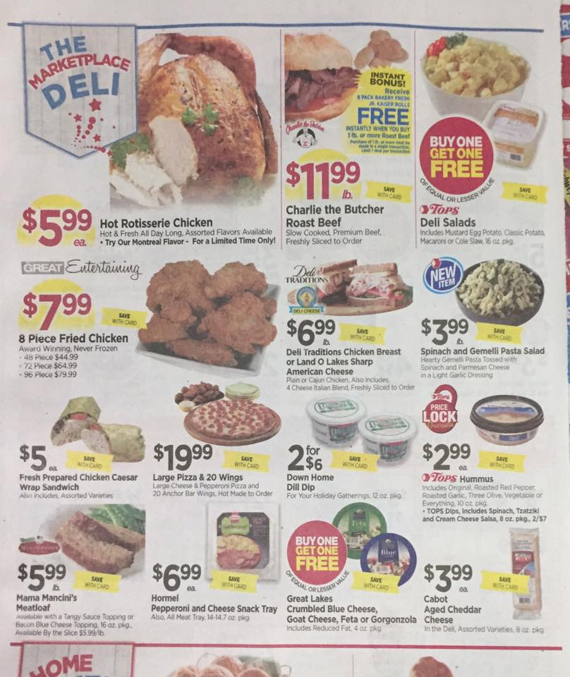 Tops Markets Ad Scan Week Of 7 2 Page 3a