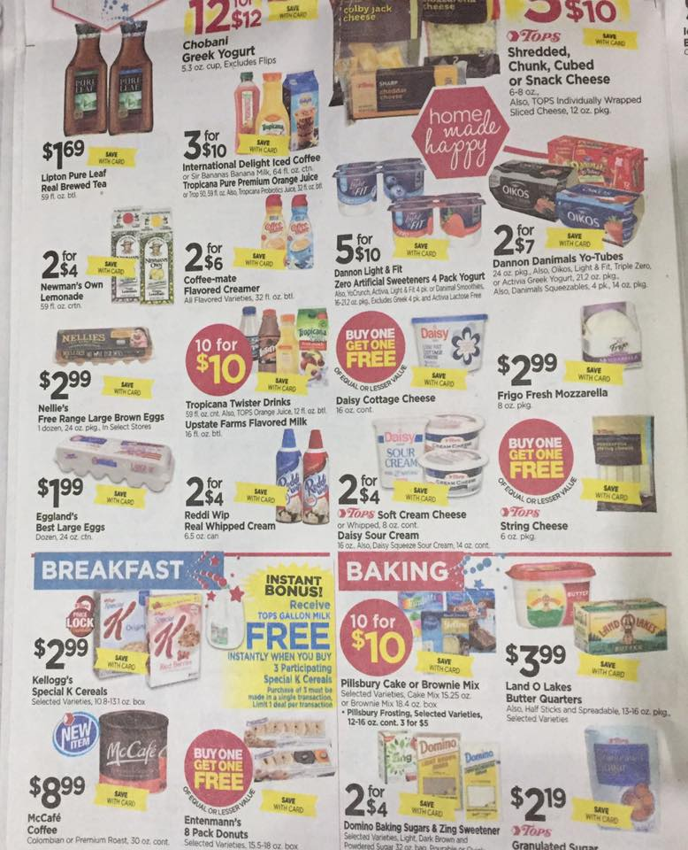Tops Markets Ad Scan Week Of 7 2 Page 4b